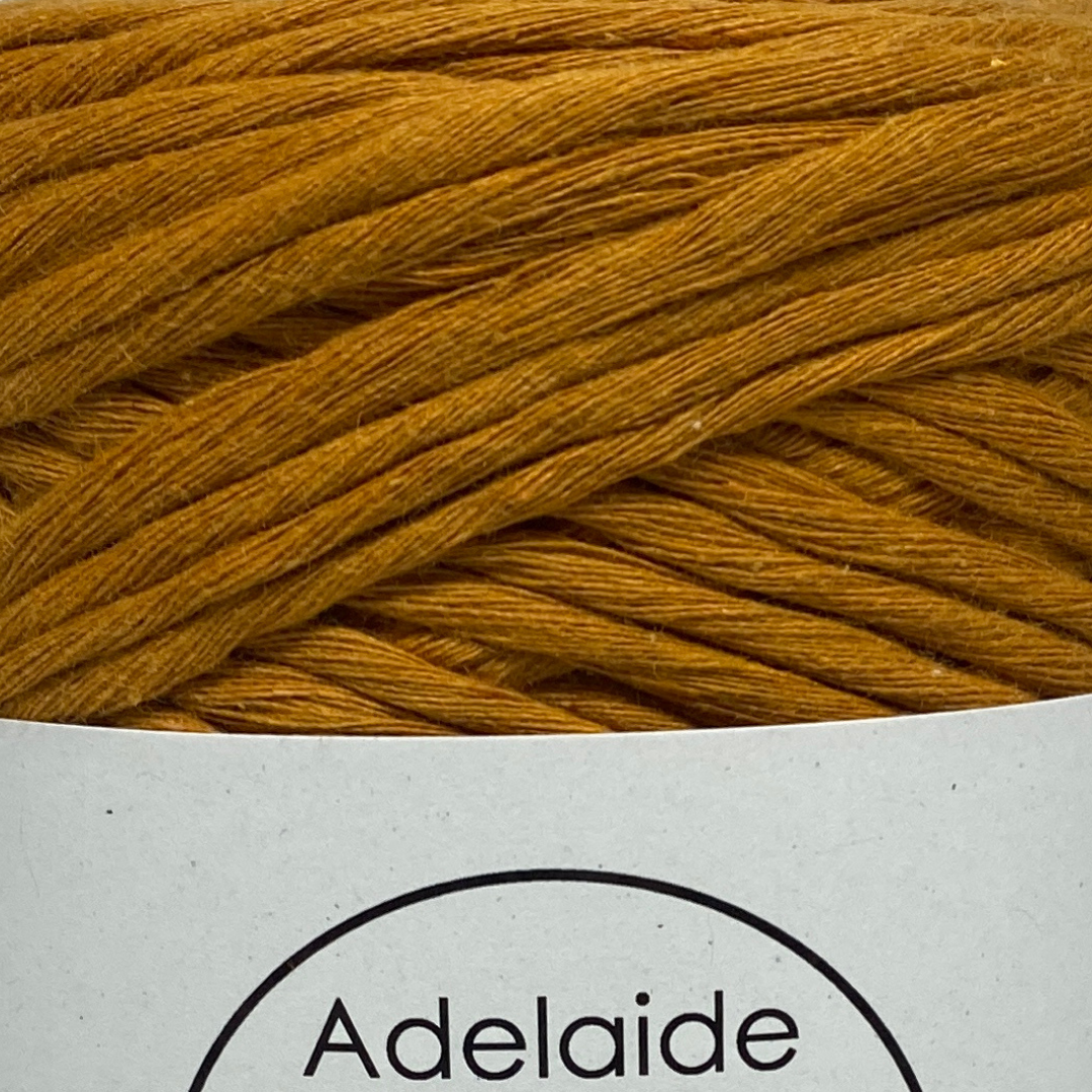 This cotton blend yarn can be put to use for crochet, weaving, knitting or even mini macrame projects, such as earrings. It is a single twist cotton made using 100%  recycled fibres.  Length: 180 metres +/-  Weight: 250gms +/-  12/14 ply, Super Bulky  Hook Size : 5-10mm hooks  Available in a huge variety of colours