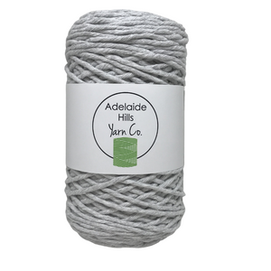 Where can I find Big Cotton BLACKS/GREYS Smoke? This cotton blend yarn can be put to use for crochet, weaving, knitting or even mini macrame projects. +/- 180 metres in length and consisting of 80% cotton fibres. 12/14 ply, Super Bulky, perfect for use with 5mm - 10mm hooks.