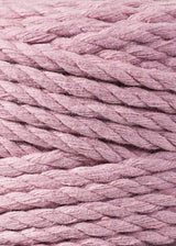 Bobbiny Macrame Rope - 3ply - 5mm - Dusty Pink