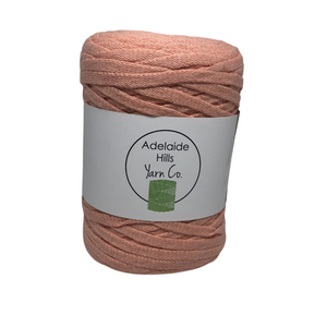 Where can I find Ribbon Yarn YELLOWS/ORANGES Peach? A beautifully woven and soft tape perfect for crochet, knitting or even macrame.  Approx 130 metres per roll.