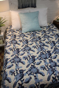 Queen/King Kantha Bed Cover