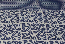 Load image into Gallery viewer, Twin/Double Indigo Duvet Cover