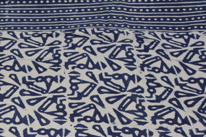 Twin/Double Indigo Duvet Cover