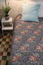 Load image into Gallery viewer, Twin/Cotton Kantha Duvet Cover