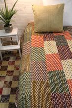 Load image into Gallery viewer, Twin/Double Kantha Duvet Cover