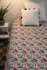 Twin/Double Kantha Duvet Cover