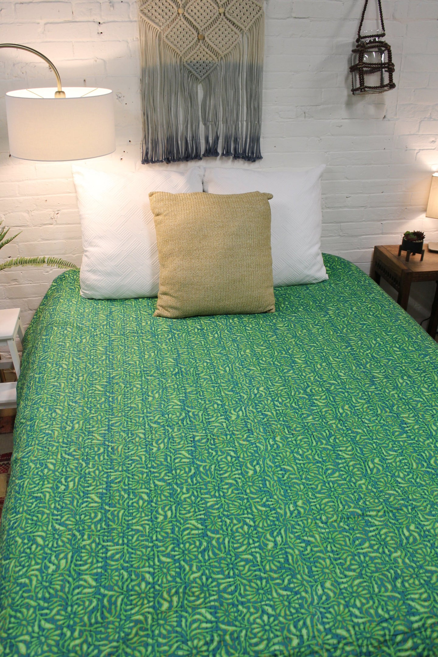 Queen/King Kantha Duvet Cover