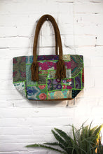 Load image into Gallery viewer, Tassel Patchwork Purse