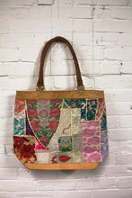 Load image into Gallery viewer, Leather Patchwork Tote