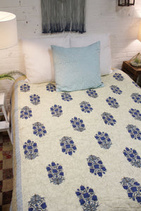 Cotton Blockprint Quilt
