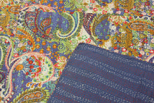 Load image into Gallery viewer, Queen/King Kantha Bed Cover
