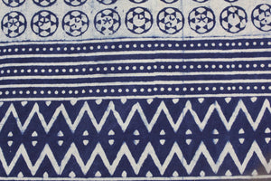 Queen/King Indigo Bed Cover