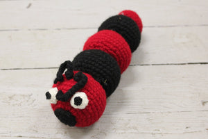 Crocheted Caterpillar