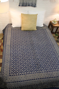 Blockprint Duvet Cover