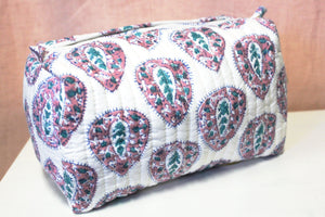 Blockprint Toiletry Bag