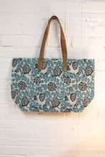 Load image into Gallery viewer, Blockprint Tote