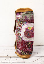 Load image into Gallery viewer, Leather Patchwork Yoga Mat Bag