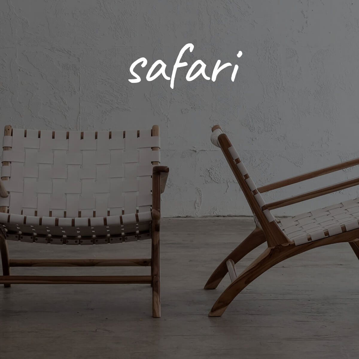 SAFARI ARMCHAIRS