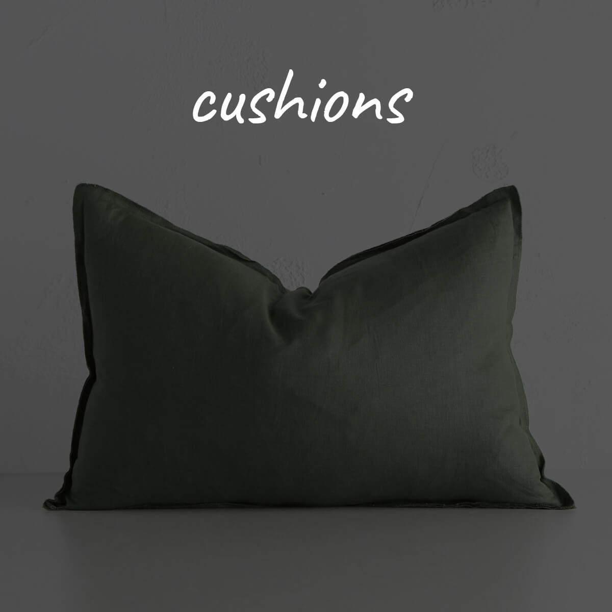 FRENCH LINEN + BOLD FABRIC SCATTER CUSHIONS