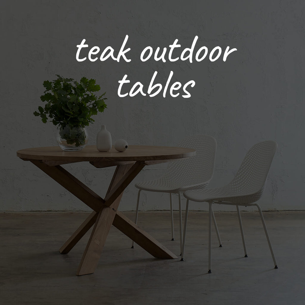 Teak Outdoor Tables