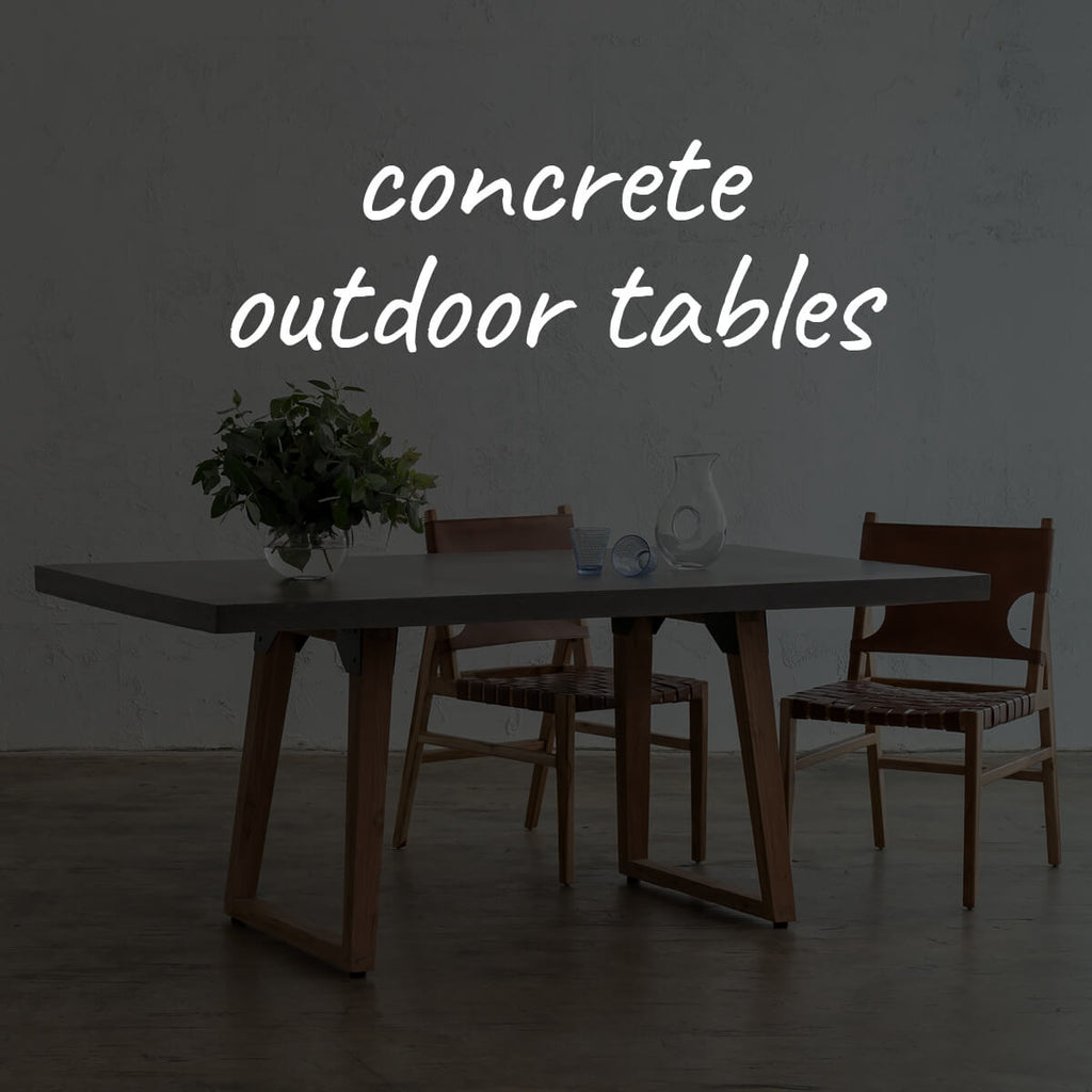 Concrete Outdoor Tables