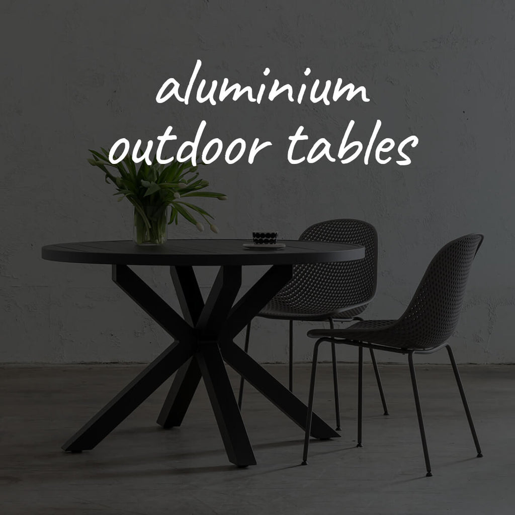 Aluminium Outdoor Tables