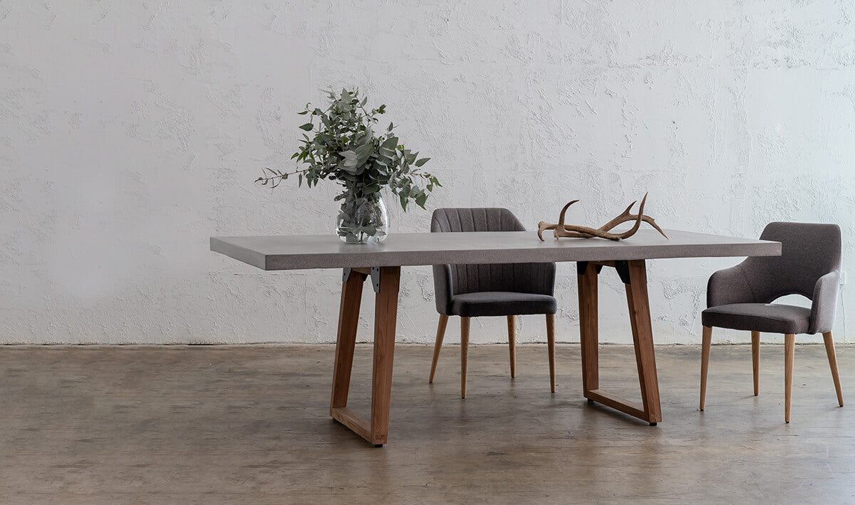 CONCRETE FURNITURE  |  The design trend that's as stunning as it is practical
