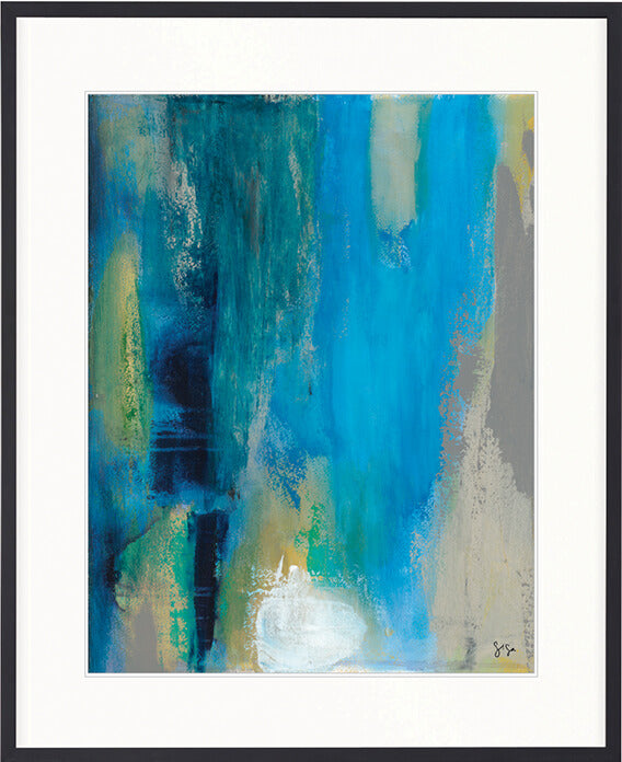 Designer Boys Art  |  Hayman Aquamarine I  |  Gav and Waz  |  print, interior design, homewares | Framed Prints | Artwork | Gav & Waz Print | Buy online