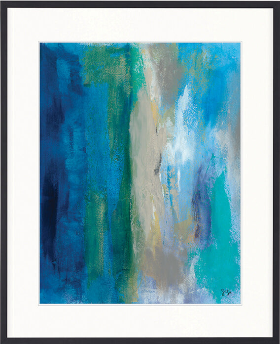 Designer Boys Art  |  Hayman Aquamarine III  |  Gav and Waz  |  print, interior design, homewares | Framed Prints | Artwork | Gav & Waz Print | Buy online