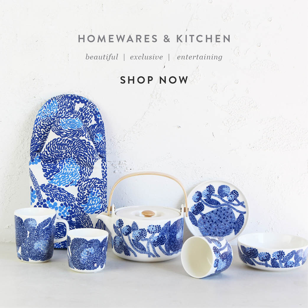 Shop Homewares + Kitchen