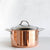 CHASSEUR COPPER COVERED STOCK POT |  24CM  |  7 LITRE