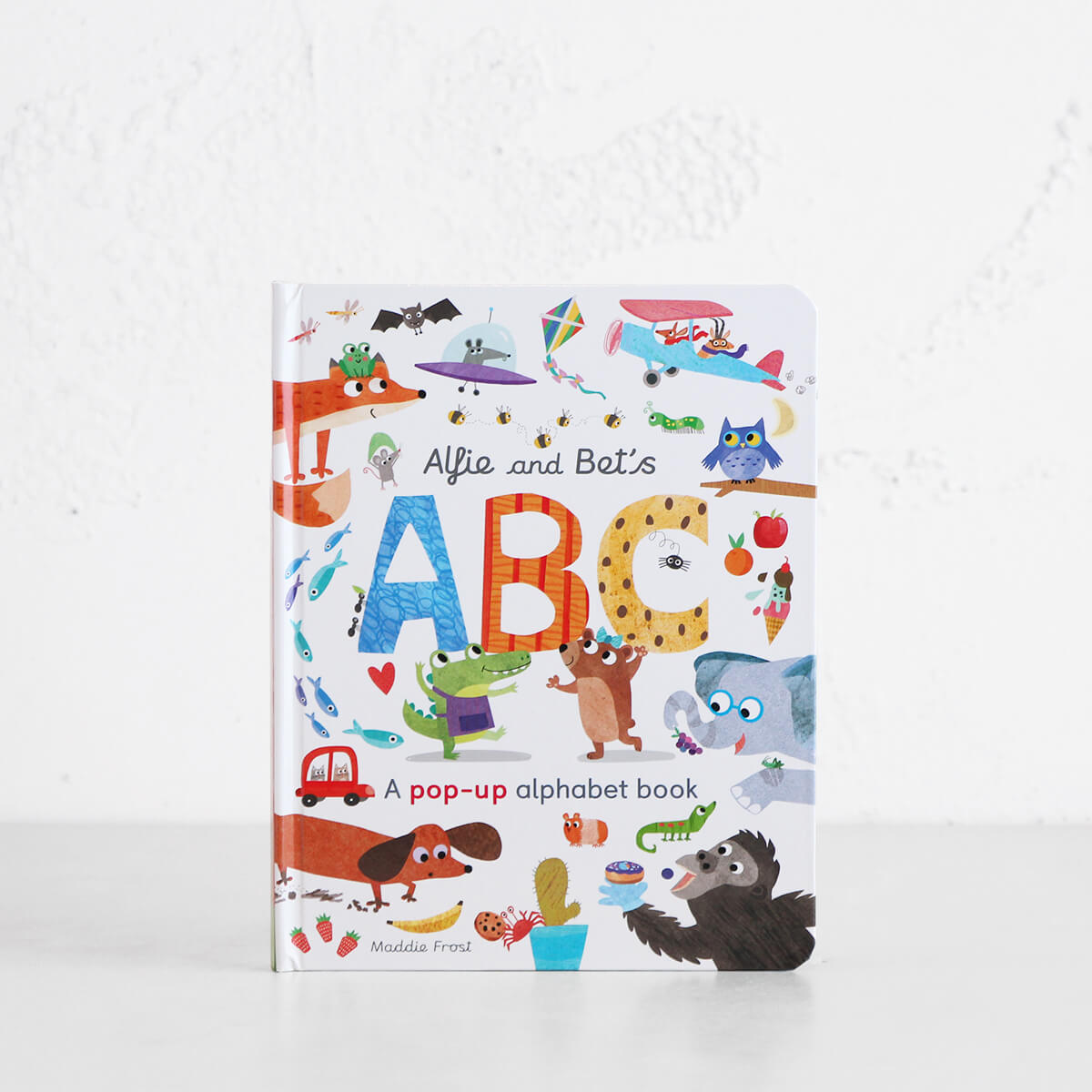 ALFIE AND BET'S ABC  |  A POP-UP ALPHABET BOOK