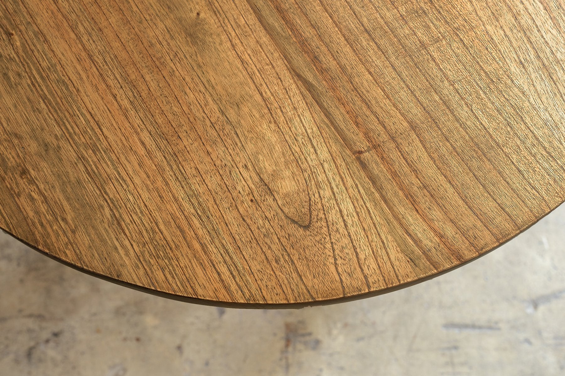 PRE ORDER | AMARA MID CENTURY TIMBER COFFEE TABLE  |  PLAIN TOP | ROUND