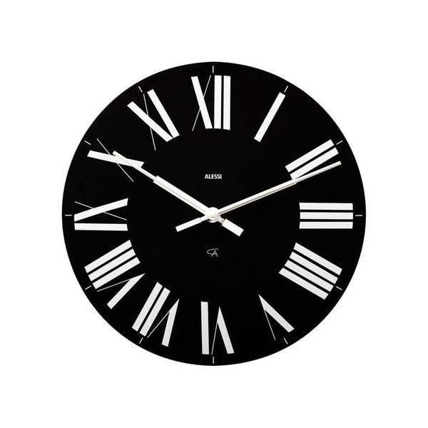 ALESSI  |  FIRENZE WALL CLOCK  |  BLACK