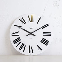ALESSI  |  FIRENZE WALL CLOCK  |  WHITE  |  36CM DIAMETER