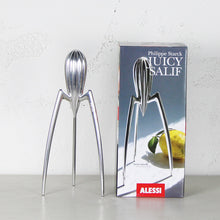 The Alessi Juicer with box designer by Philippe Starck