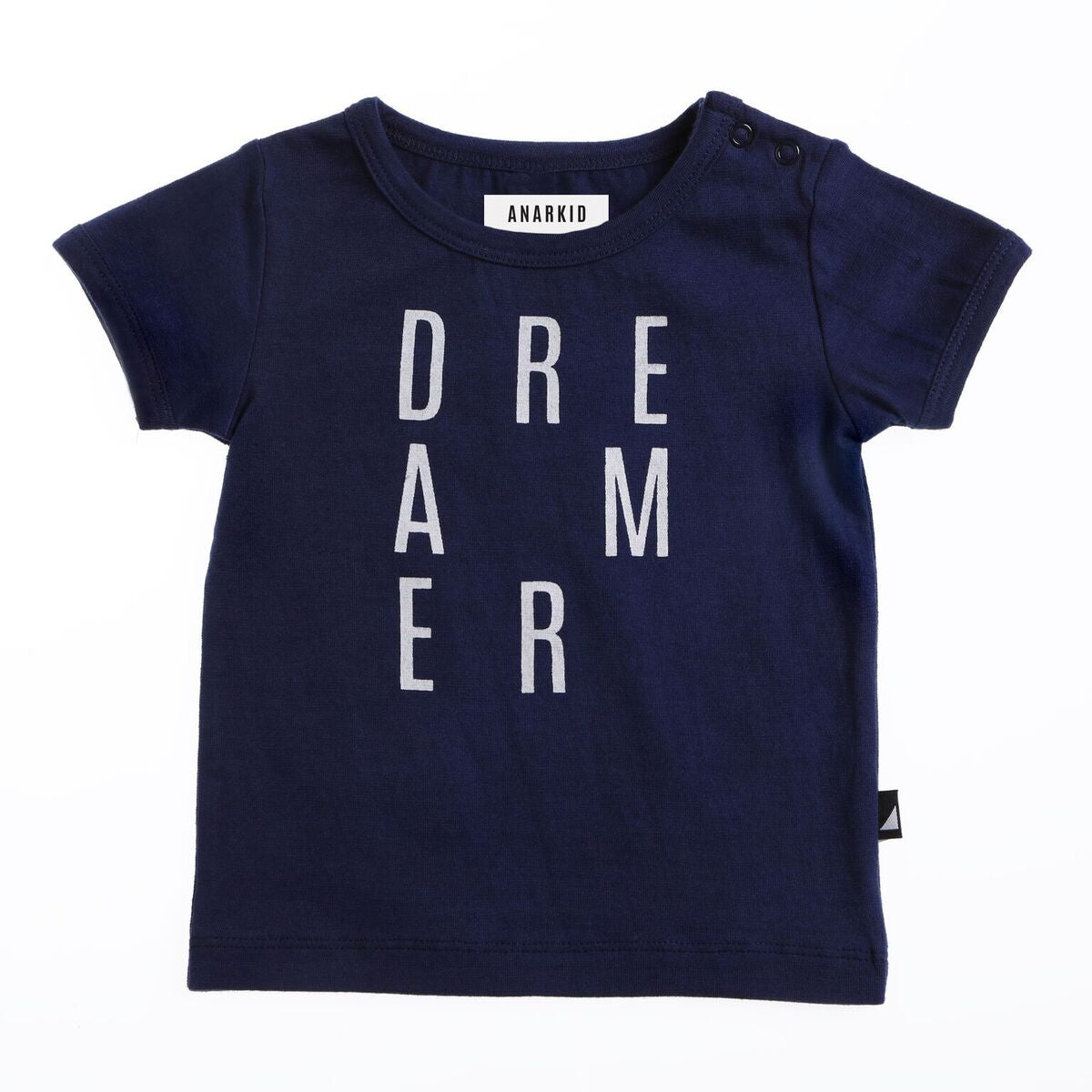 ANARKID  |  DREAMER SHORT SLEEVE TEE  |  NAVY