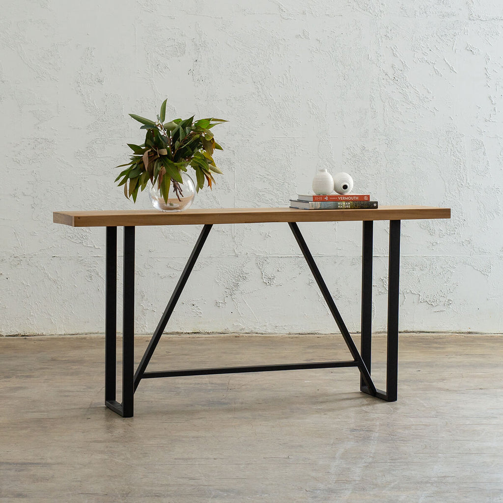 BAILEY RECYCLED TEAK CONSOLE TABLE | 150CM