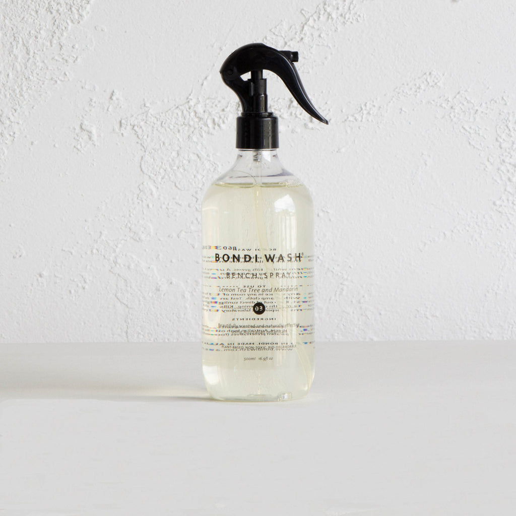 BONDI WASH BENCH SPRAY  |  LEMON TEA TREE AND MANDARIN