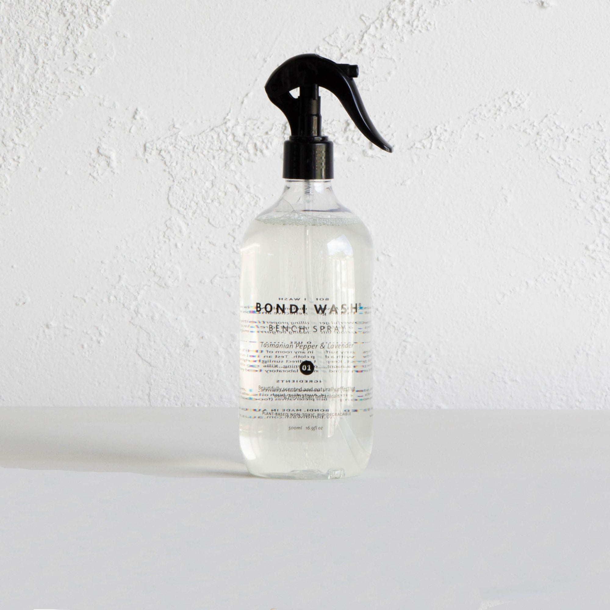 BONDI WASH BENCH SPRAY  |  TASMANIAN PEPPER & LAVENDER