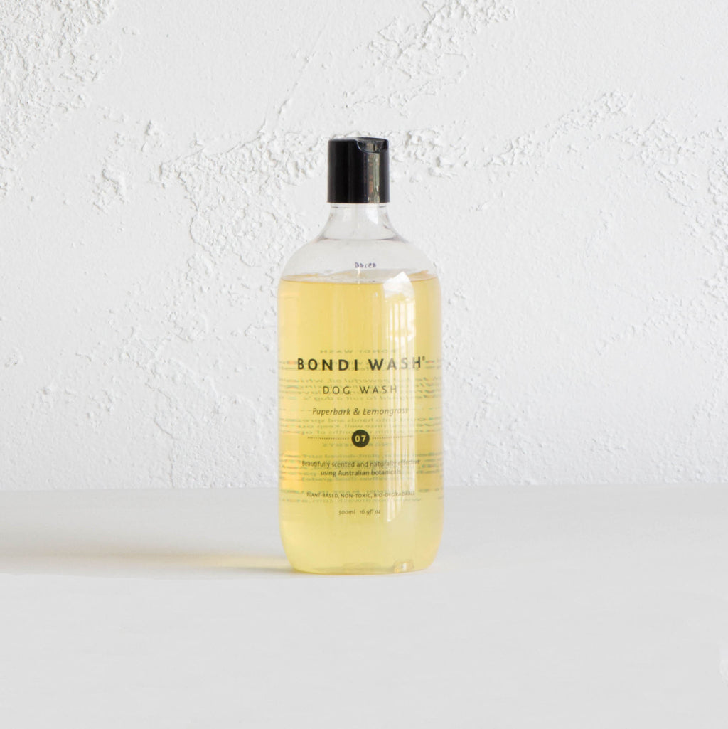 BONDI WASH DOG WASH  |  PAPERBARK & LEMONGRASS