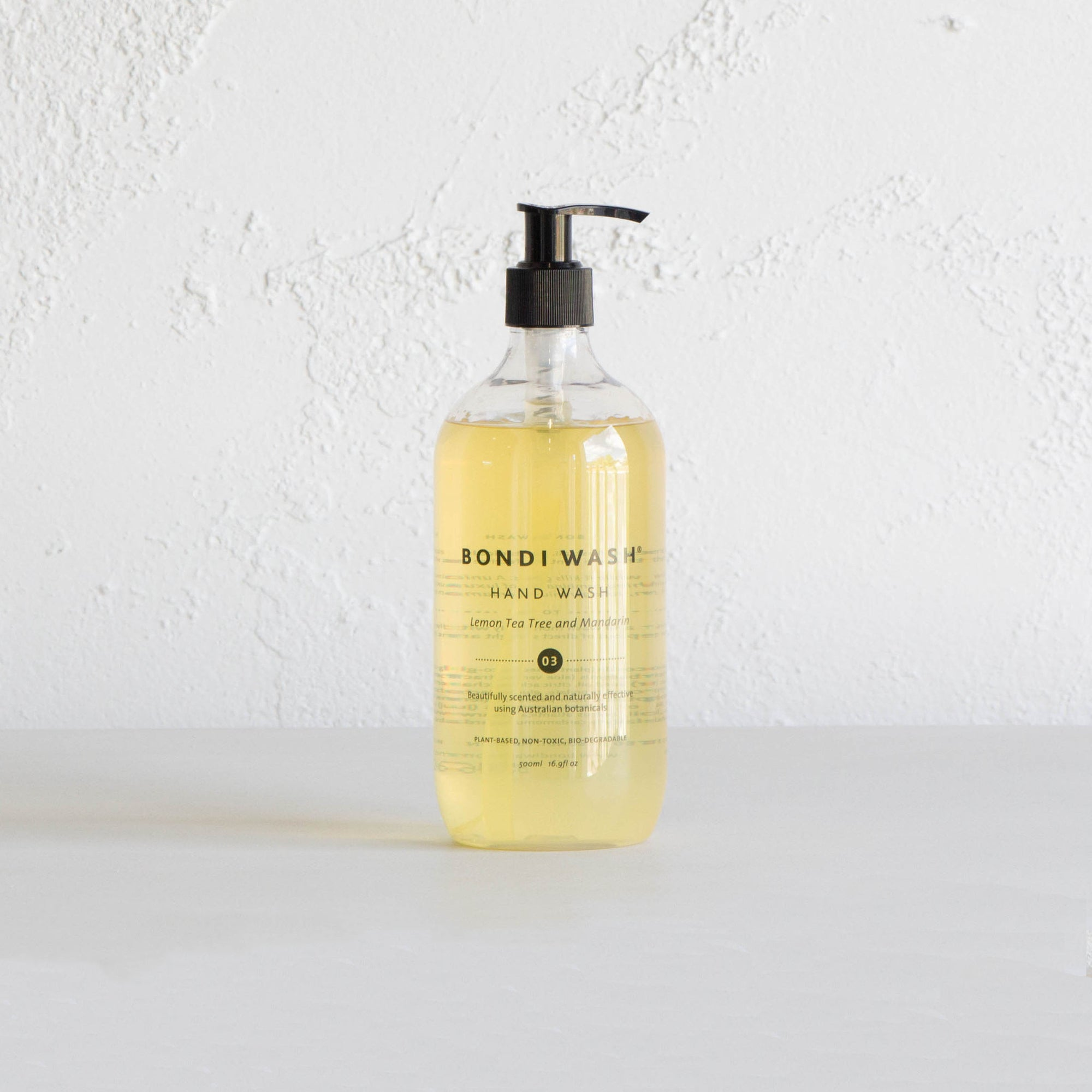 BONDI WASH HAND WASH  |  LEMON TEA TREE & MANDARIN