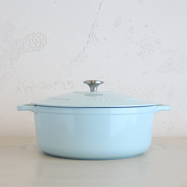 CHASSEUR  |  ROUND FRENCH OVEN  |  DUCK EGG BLUE  |  28CM  |  6.1L
