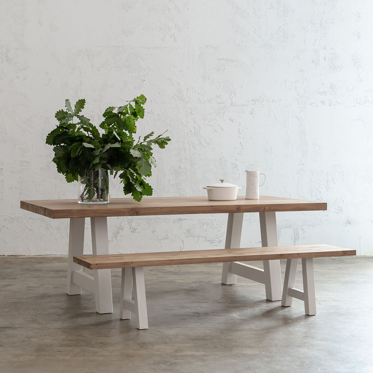 Picture of: Club Grenada Teak Dining Bench Recycled Teak Slatted Outdoor Dining Table