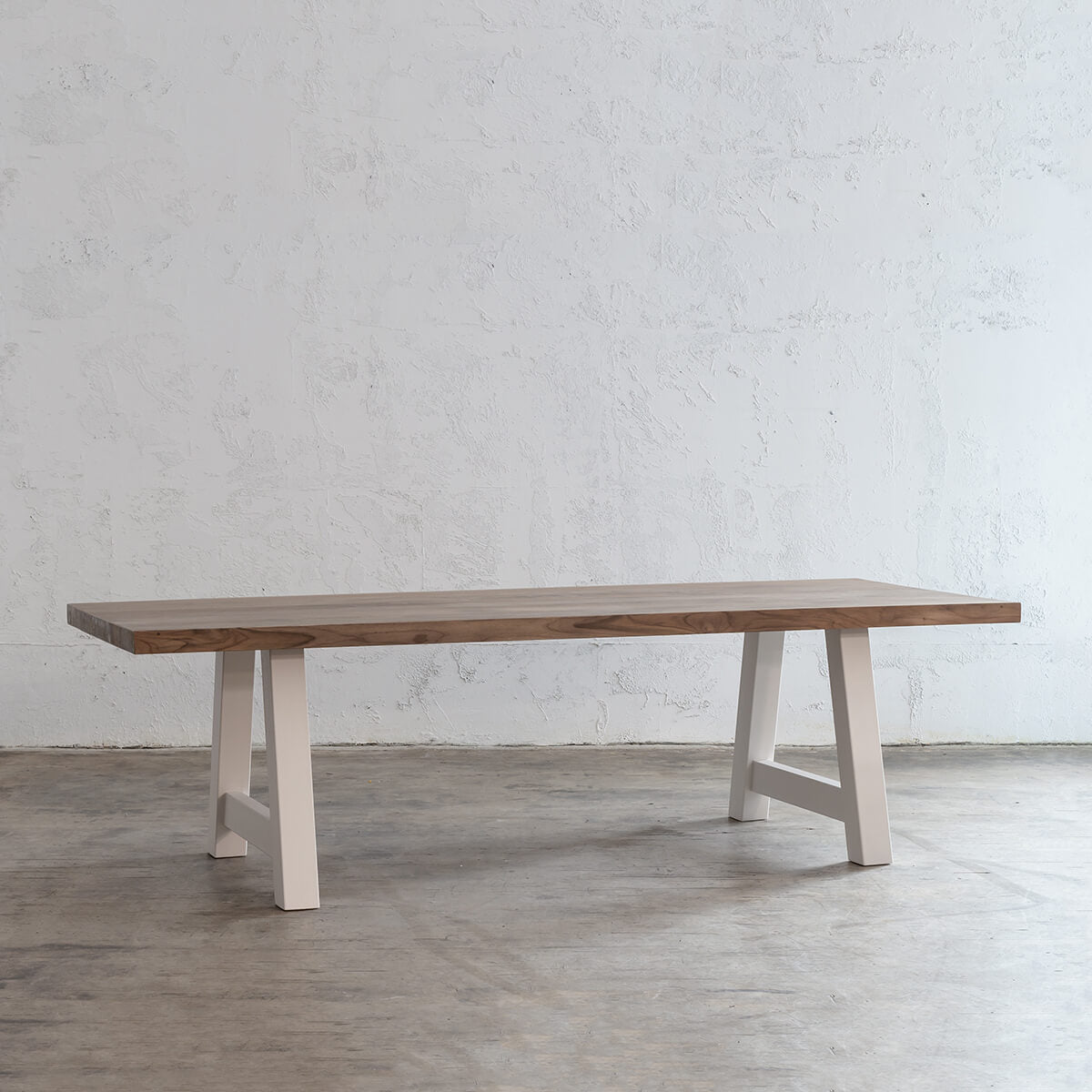 PRE ORDER | CLUB GRENADA SOLID INDOOR TEAK DINING TABLE |  2.2M