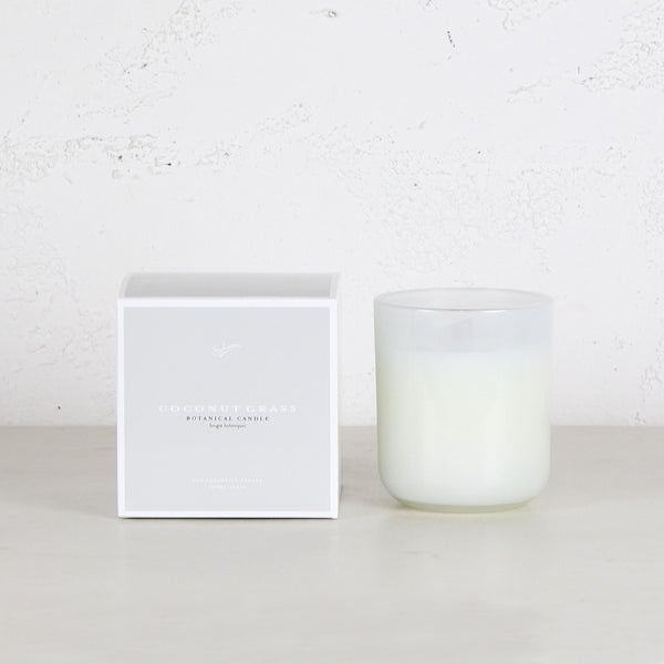 SOHUM ECO CEDARWICK CANDLE  |  COCONUT GRASS
