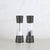 COLE & MASON  |  DERWENT SALT + PEPPER GRINDER GIFT SET |  GUNMETAL