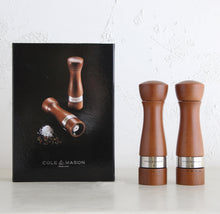 COLE + MASON  |  MELBURY SALT + PEPPER GIFT SET  |  WALNUT WITH GIFT BOX
