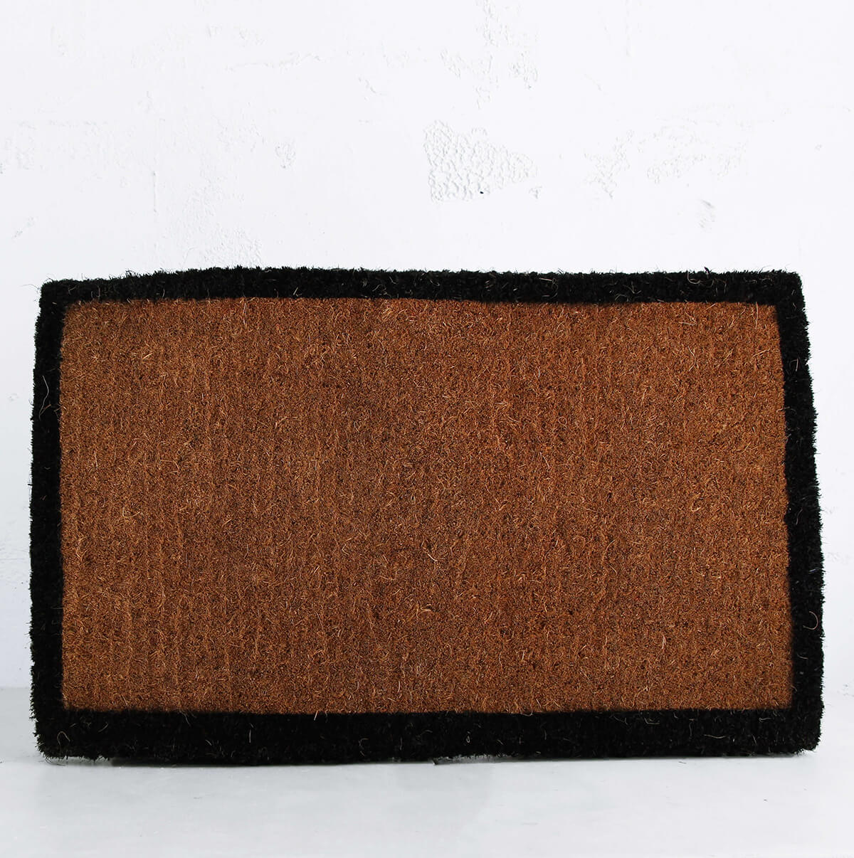 BLACK BORDER DOOR MAT