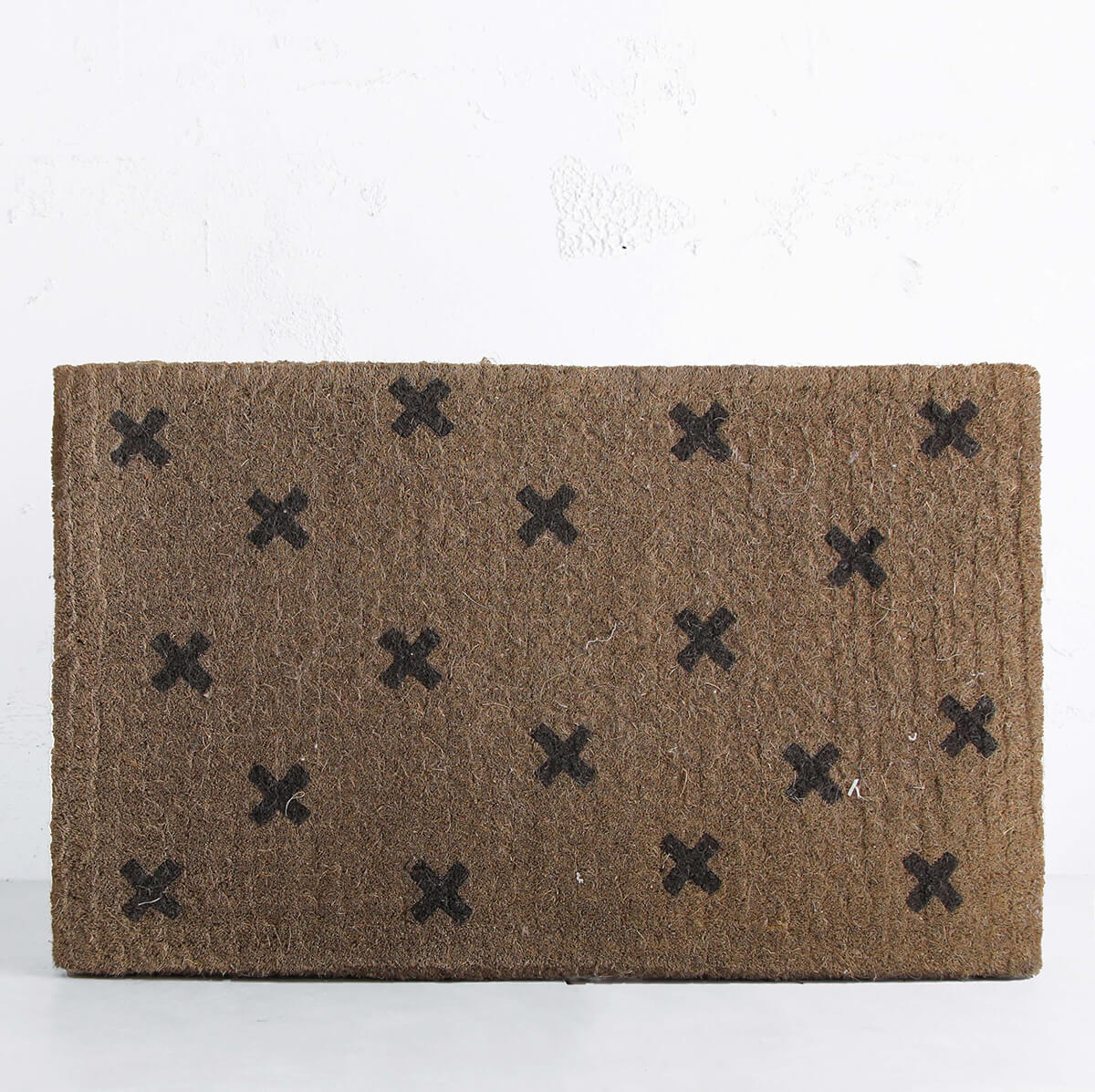 CROSSES DOOR MAT